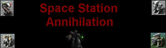 Space Station Annihilation - Home of the Tyrrian Terror AI